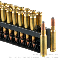 20 Rounds of .308 Win Ammo by Remington Core-Lokt - 180gr SP