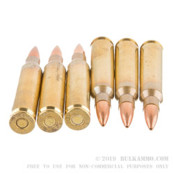 20 Rounds of .223 Ammo by Fiocchi - 77gr HPBT