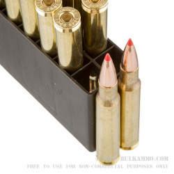 20 Rounds of 30-06 Springfield Ammo by Hornady Superformance - 180gr GMX