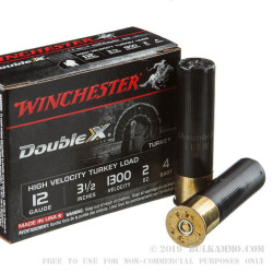10 Rounds of 12ga Ammo by Winchester Double X - 2 ounce #4 shot