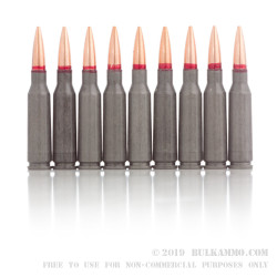 30 Rounds of 5.45x39mm Ammo by Wolf Ukraine - 69gr FMJ