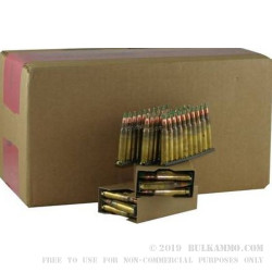 900 Rounds of M855 5.56x45 Ammo by Lake City - 62gr FMJ on Stripper Clips