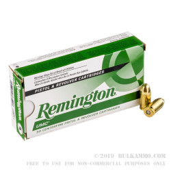 500 Rounds of .45 GAP Ammo by Remington UMC - 230gr FMJ