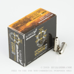 20 Rounds of .40 S&W Ammo by Liberty Ultra Defense Ammunition - 60gr SCHP
