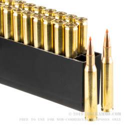 20 Rounds of .270 Win Ammo by Hornady Superformance - 140gr SST