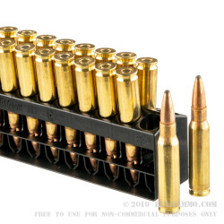 20 Rounds of .308 Win Ammo by Remington - 150gr PSP