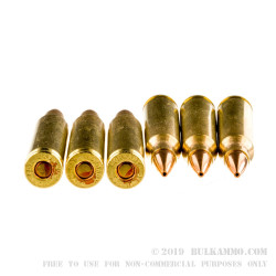 20 Rounds of 5.56x45 Ammo by Hornady - 55gr GMX