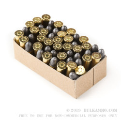 1000 Rounds of .32S&W Long Ammo by Aguila - 98gr LRN
