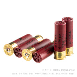 """25 Rounds of 12ga Ammo by Federal Speed-Shok - 3"""" 1-1/8 ounce #4 shot"""