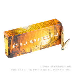 200 Rounds of .223 Ammo by Federal Fusion - 62gr Fusion