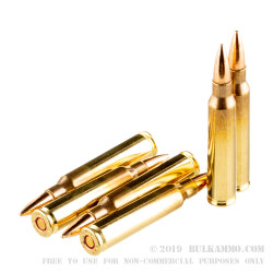 50 Rounds of 5.56x45 Ammo by CBC - 55gr FMJ