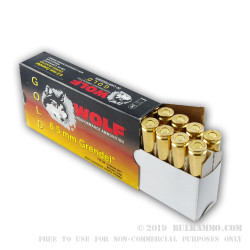 20 Rounds of 6.5mm Grendel  Ammo by Wolf - 120gr MPT