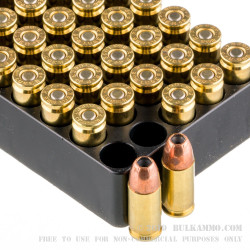 50 Rounds of 9mm +P Ammo by Remington - 115gr JHP