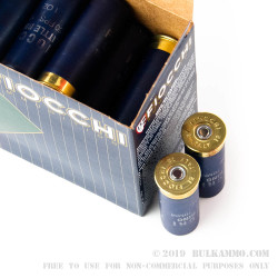 """250 Rounds of 12ga 2-3/4"""" Ammo by Fiocchi - 1 ounce #7 1/2 shot"""