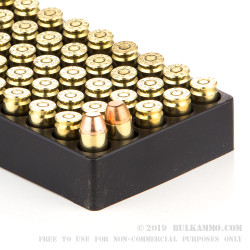 1000 Rounds of .40 S&W Ammo by Aguila - 180gr FMJ FN
