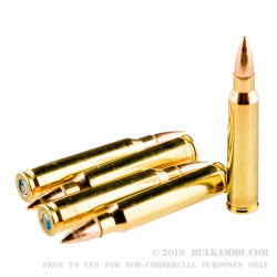 500  Rounds of .223 Ammo by Federal - 62gr FMJBT