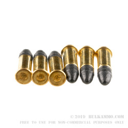5250 Rounds of .22 LR Ammo by Blazer - 38gr LRN