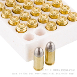 50 Rounds of .380 ACP Ammo by Ultramax Remanufactured - 115gr LRN