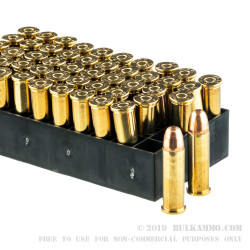 1000 Rounds of .38 Spl Ammo by PMC - 132gr FMJ