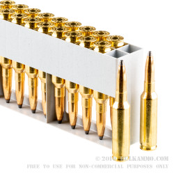 500 Rounds of 6.5 mm Creedmoor Ammo by Sellier & Bellot - 140gr SP