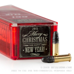 100 Rounds of .22 LR Ammo Gift Pack by CCI - 40gr LRN