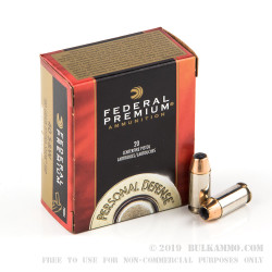 500  Rounds of .40 S&W Ammo by Federal Hydra Shok - 180gr JHP