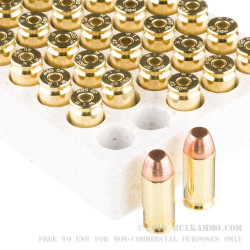 50 Rounds of .40 S&W Ammo by Winchester - 180gr FMJ