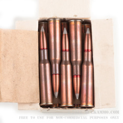 440 Rounds of 7.62x54r Ammo by Bulgarian Surplus - 149gr FMJ