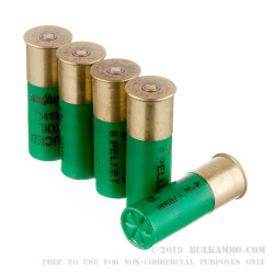 "25 Rounds of 12ga Ammo by Remington - 2-3/4"" 00 Buck"