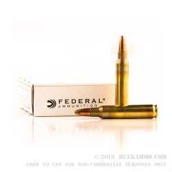 500  Rounds of 5.56x45 Ammo by Federal - 62gr SP