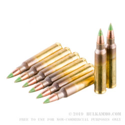 800 Rounds of 5.56x45 Ammo in Can by Federal - 62gr FMJBT