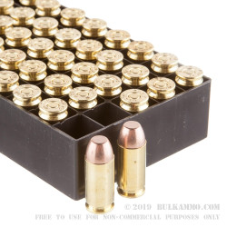 50 Rounds of .40 S&W Ammo by SinterFire RHA - 125gr Frangible