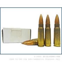 1120 Rounds of 7.62x39mm Ammo by Yugo Surplus - 123gr FMJ