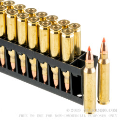 200 Rounds of .223 Ammo by Hornady Varmint Express - 40gr V-Max