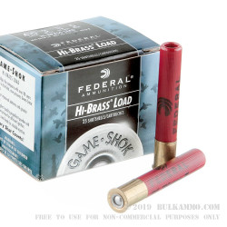 """25 Rounds of .410 Ammo by Federal Game-Shok - 3"""" 11/16 ounce #5 shot"""