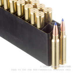 20 Rounds of .338 Win Mag Ammo by Barnes - 225gr TTSX