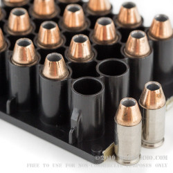 200 Rounds of .380 ACP Ammo by Federal Premium Low Recoil - 90gr Hydra-Shok JHP