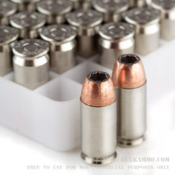 50 Rounds of .45 ACP Ammo by Speer - 230gr JHP