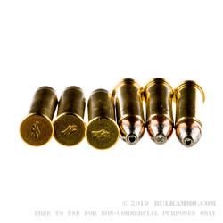 50 Rounds of .22 WMR Ammo by Winchester Varmint Lead Free - 28 Grain JHP