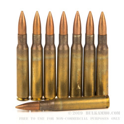 320 Rounds of 30-06 Springfield M1-Garand Ammo by Pakistani Surplus - 150gr FMJ