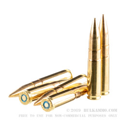 500 Rounds of .300 AAC Blackout Ammo by Sellier & Bellot - 200gr FMJ
