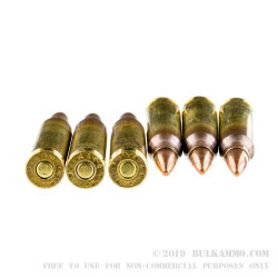 500 Rounds of 5.56x45 Ammo by Federal American Eagle - 55gr FMJBT