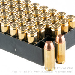 50 Rounds of 10mm Ammo by PMC - 200gr FMJTC