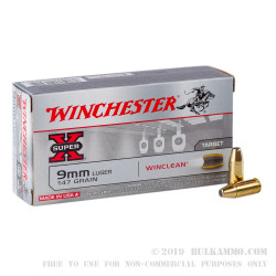 Sub-Sonic 9mm Ammo For Sale