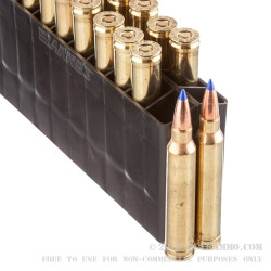 20 Rounds of .300 Win Mag Ammo by Barnes VOR-TX - 190gr Polymer Tipped