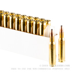 20 Rounds of .222 Rem Ammo by Prvi Partizan - 50gr SP