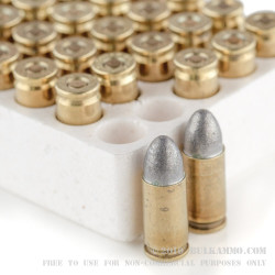 50 Rounds of 9mm Ammo by Ultramax - 125gr LRN