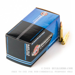 1000 Rounds of .223 Ammo by Black Hills Remanufactured Ammunition - 52gr HP Match
