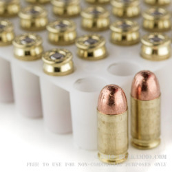 50 Rounds of .380 ACP Ammo by Blazer Brass - 95gr FMJ