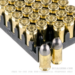 50 Rounds of .380 ACP Ammo by Magtech - 95gr LRN